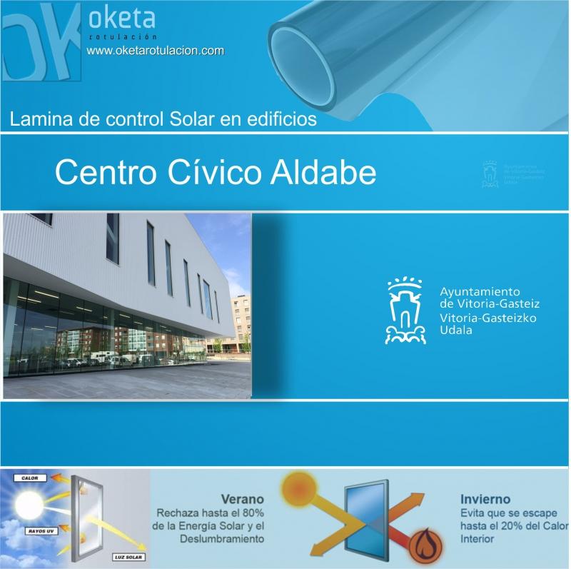 lamina solar Aldabe