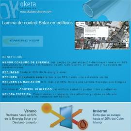 lamina control solar folleto
