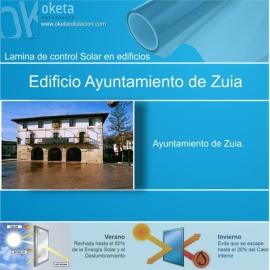 lamina solar zuia