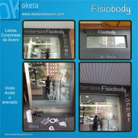 fisiobody-fachada letras corporeas