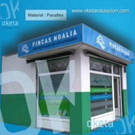 fachada Fincas Noalia