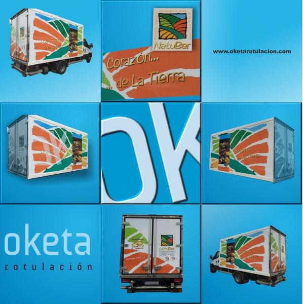 rotulacion furgoneta empresa patata